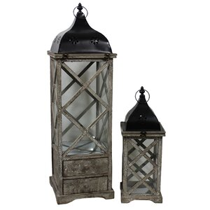 2-Piece Bailey Lantern Set