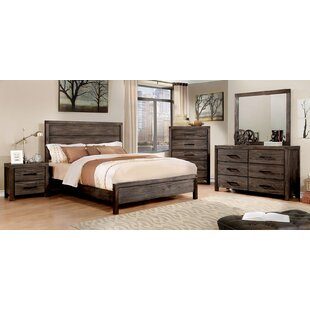 Gracie Oaks Pettigrew Panel Configurable Bedroom Set