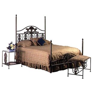 Grace Collection Four Poster Bed