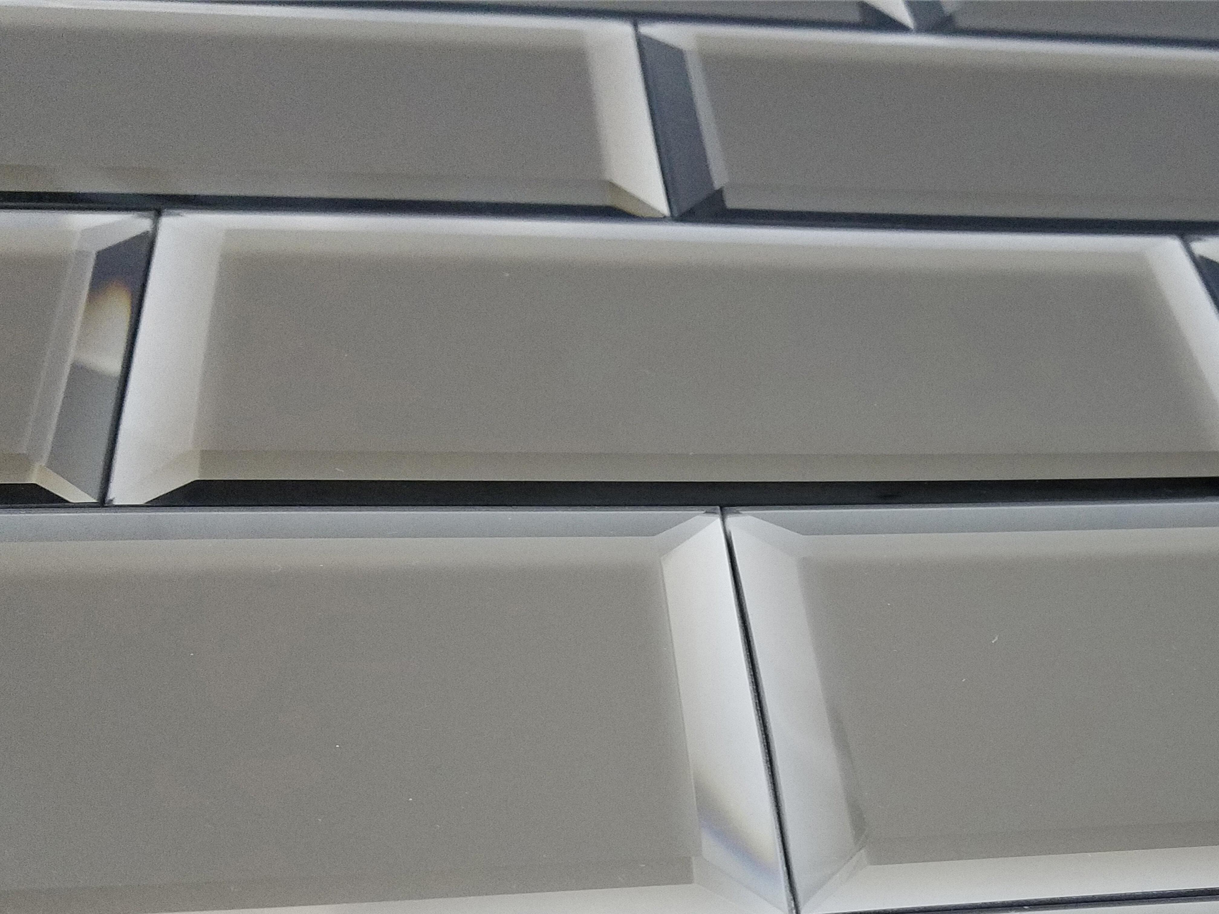 Abolos Echo Matte 4 X 12 Mirror Glass Subway Tile In Gold Wayfair