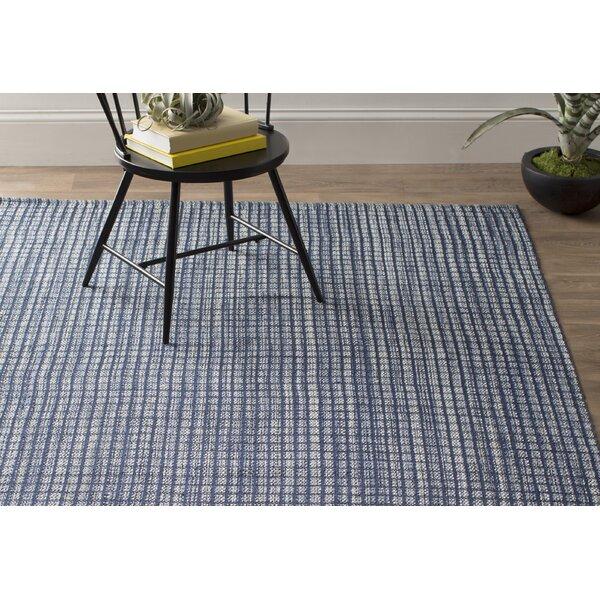 Dash And Albert Rugs Coco Hand Woven Blue Indoor Outdoor Area Rug Reviews Wayfair