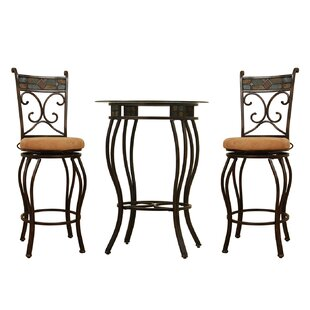 Cambron 3 Piece Pub Table Set