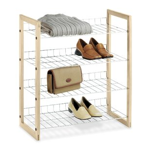 Whitmor, Inc 4-Tier Shoe Rack