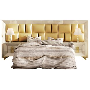 Komar Special Headboard Panel 4 Piece Bedroom Set