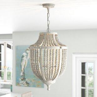 Beachcrest Home Nailwell 2-Light Empire Chandelier