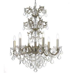 Astoria Grand Virginie 6-Light Chandelier