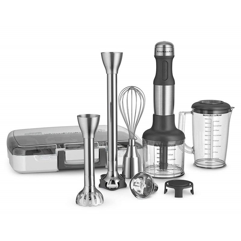 Kitchenaid Kitchenaid Stainless Steel 5 Speed Immersion Blender With