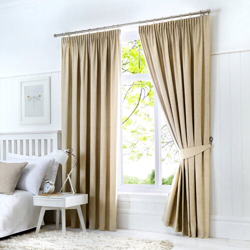 Coleraine Pencil Pleat Blackout Thermal Curtains Marlow Home