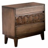 Sudduth Wooden 3 Drawer Nightstand by Union Rustic