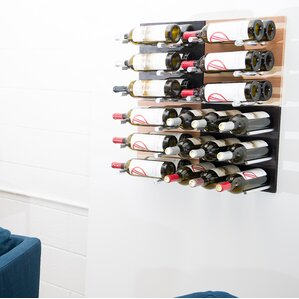 27 Bottle Wall Mounted Wine Rack by VintageView
