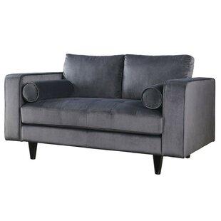 Trotter Upholstered Loveseat by Mercer41