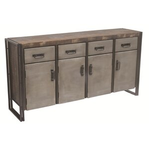 Allison 4 Drawer Sideboard by MOTI Furniture