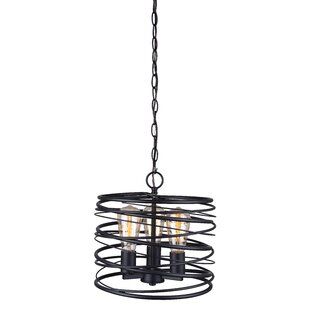 Ussery 3-Light Drum Pendant