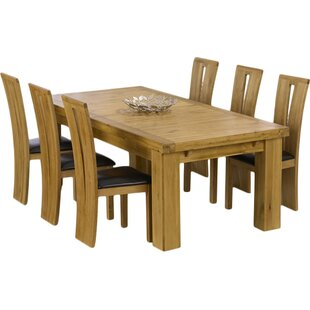 Patricia Extendable Dining Set With 6 Chairs By Home Etc
