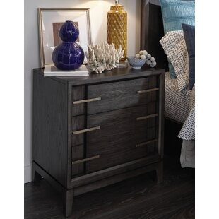 Diehl 2 Drawer Nightstand by 17 Stories
