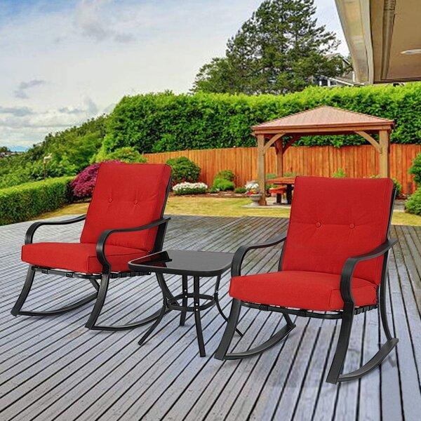 x2 Foldable Garden Patio Bistro Chair Set Brown Mosaic Folding Metal Outdoor New