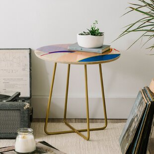 Iveta Abolina Noemie I End Table by East Urban Home