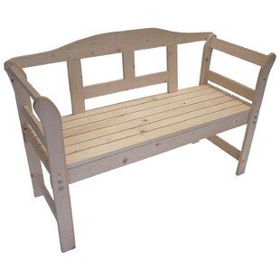 Lisa 2 Seater Wooden Garden Bench