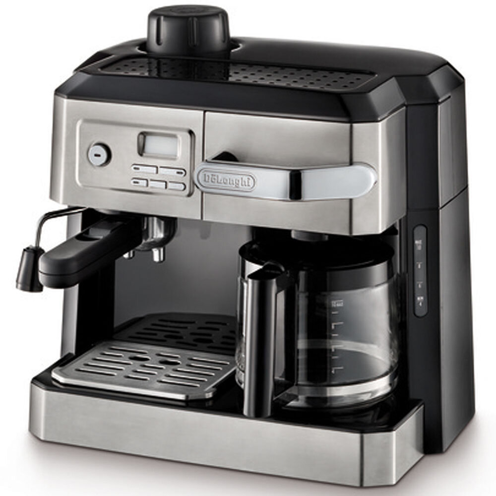 aad57a46b31 DeLonghi Combination Coffee   Espresso Maker   Reviews