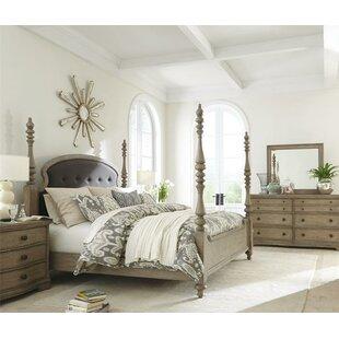 One Allium Way Paredes Four Poster Configurable Bedroom Set