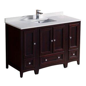 Oxford 48″ Single Bathroom Vanity Set