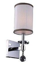 Mcdowell Glam 1-Light LED Armed Sconce by Rosdorf Park