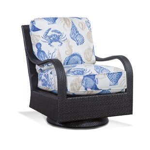 Brighton Pointe Swivel Rocking Chair with Cushions by Braxton Culler