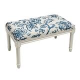 Ramage Painterly Toile Wood Bench by Charlton Home
