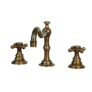 Legion Furniture Widespread Faucet with Double Cross Handles