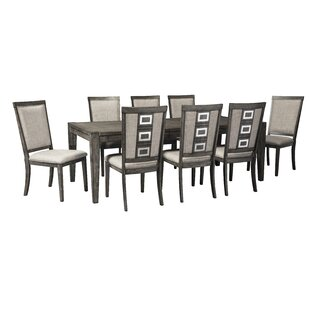 Barr 9 Piece Dining Set World Menagerie