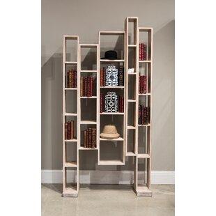 Great Wall Geometric Bookcase by Sarreid Ltd
