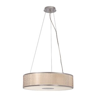 TransGlobe Lighting Diamond Grill 4-Light Pendant