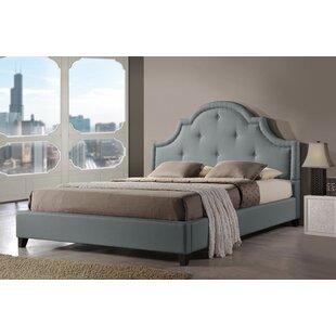 Mercer41 Blade Upholstered Platform Bed