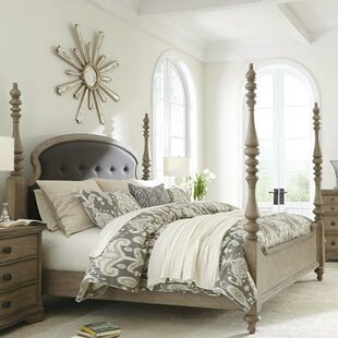 Paredes Upholstered Panel Bed