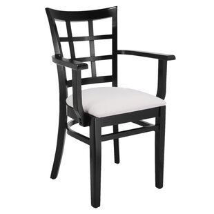 Harner Solid Wood Upholstered Dining Chair