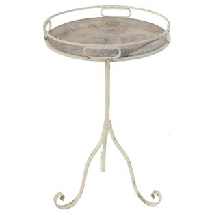 Shop For Weathered Art End Table by ABC Home Collection