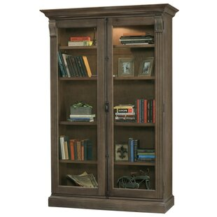 Brehm Lighted Curio Cabinet by Darby Home Co