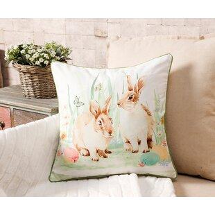 Easter Bunny Throw Pillow by 14 Karat Home Inc. Fresh