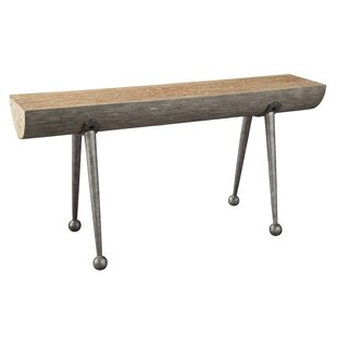 Andromeda Log Console Table By 17 Stories