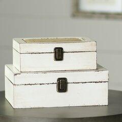 8 PCS Rustic Wooden Box Storage Organizer Craft Box for Collectibles Home Venue Decor Succulents