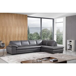 stockbridge leather sectional - Sectional Leather Sofas