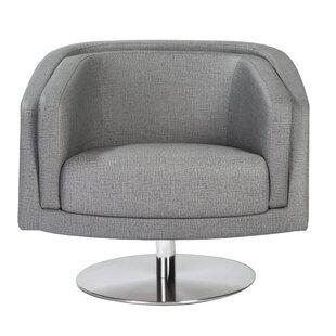 Orren Ellis Locking Swivel Lounge Chair