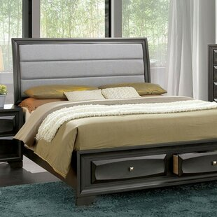 Nicki Queen Upholstered Storage Platform Bed