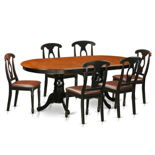 August Grove Pilcher 7 Piece Wood Dining Set