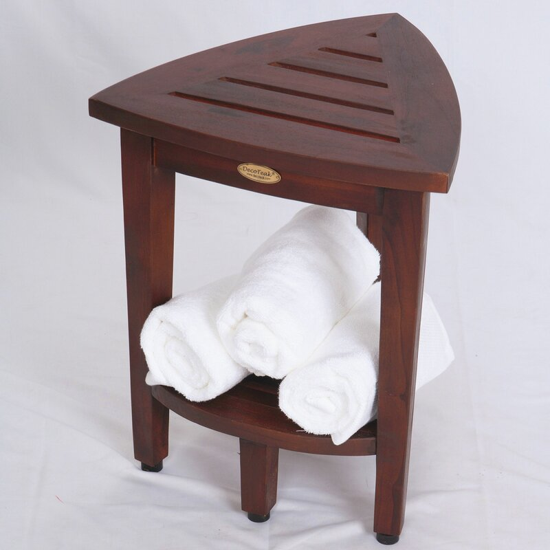 wood chair benches tbf corner shower on teak sale now discount