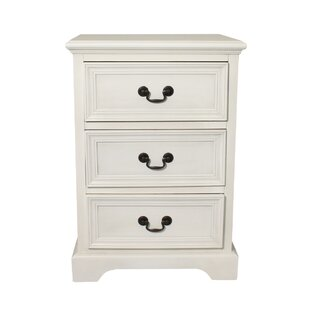 Urban 3 Drawer Nightstand by EC World Imports