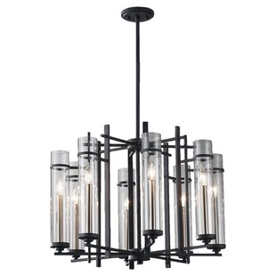 Trent Austin Design Yucca Valley 8-Light Shaded Chandelier
