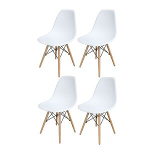 Perkinson Scoop Seat Dining Chair (Set of 4) by George Oliver