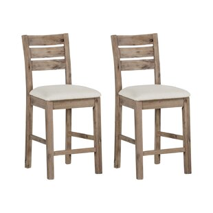 Stanardsville 63.5cm Bar Stool (Set Of 2) By Alpen Home