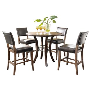 Royalton 5 Piece Counter Height Dining Set Red Barrel Studio